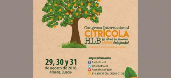 Gémina, ponente invitado al Congreso Internacional Citrícola Colombia en agosto 2018