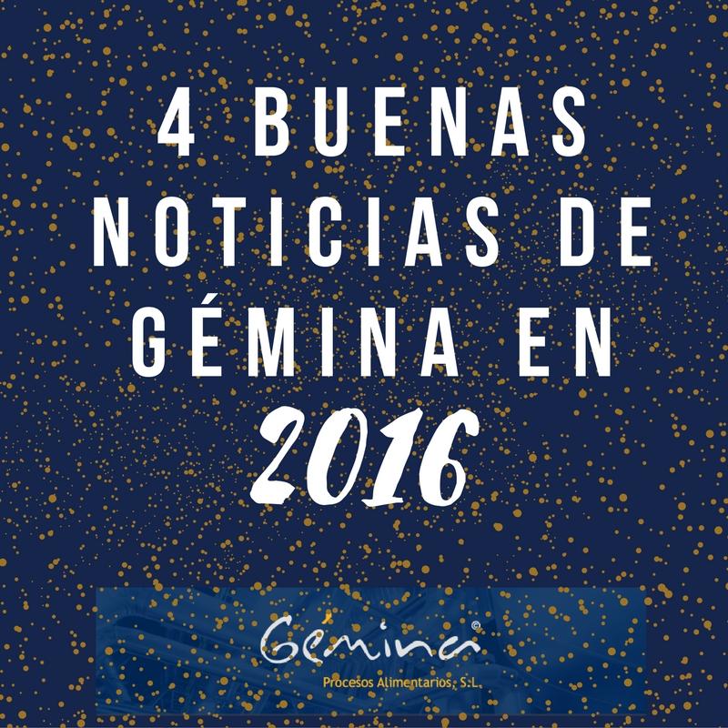 4 buenas noticias de la actividad de Gémina en 2016