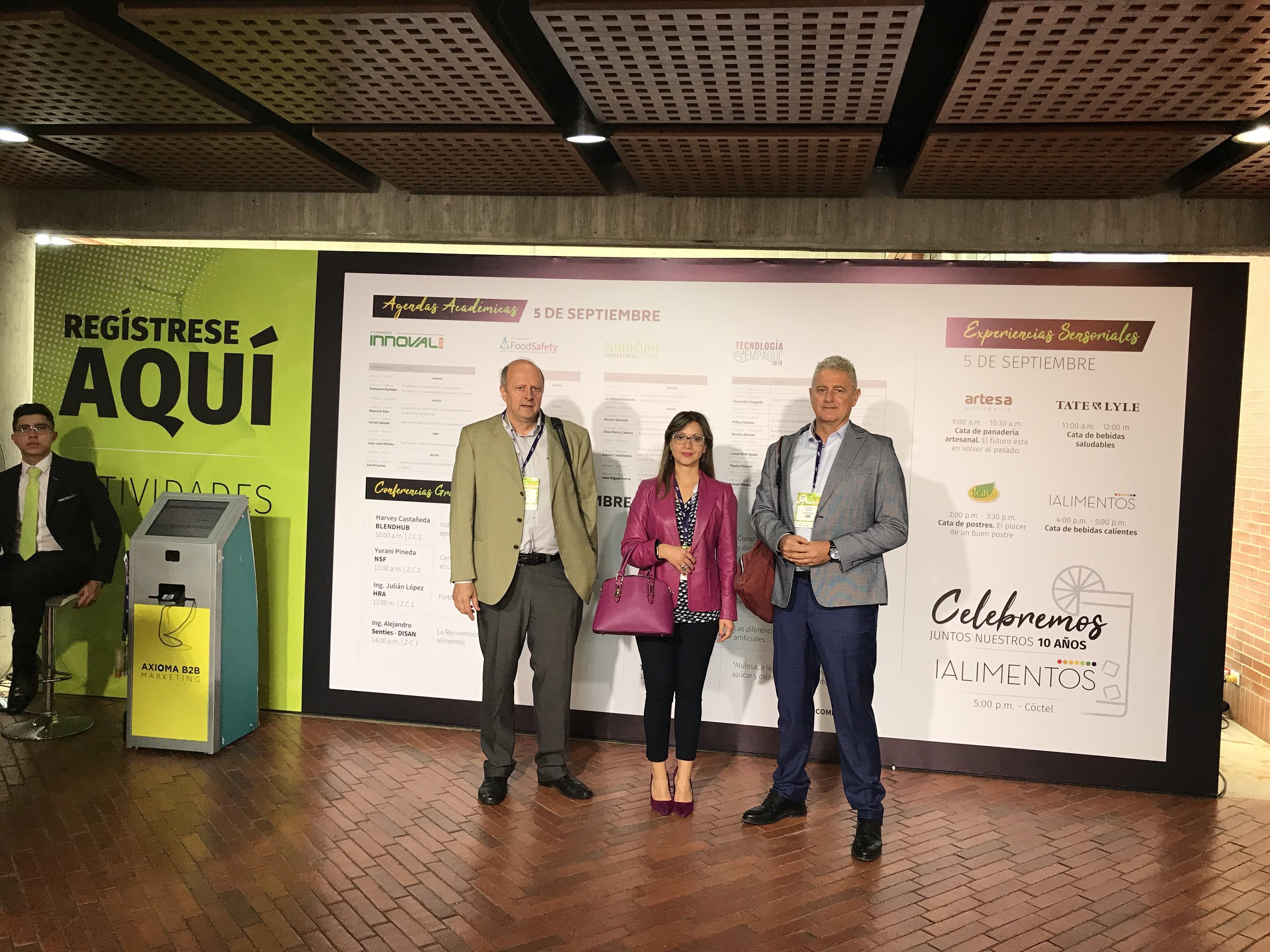 Gémina takes part as guest in EXPO IALIMENTOS 2018 in Bogotá