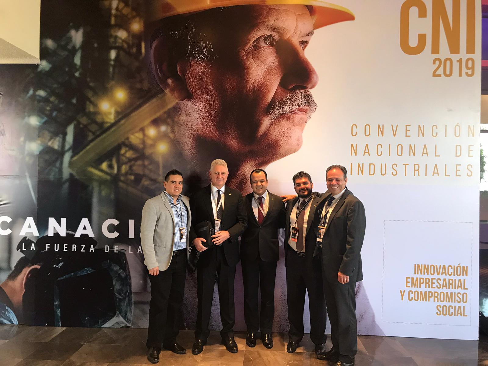 Gémina attended the CANACINTRA National Convention of industries 2019