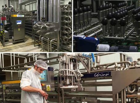 Ingeniería Gémina: Diseño de procesos industriales alimentarios